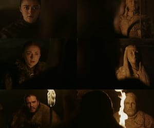 Collage, got, and arya stark image