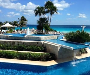 cancun, mexico, and pool image