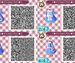 dress, qr code, and acnl image