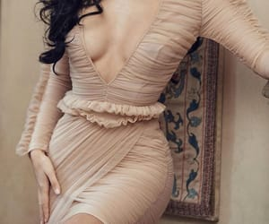 dress, Nude, and fashion image