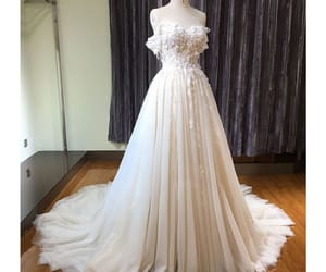 bridal gown, wedding dresses, and beautiful wedding dress image