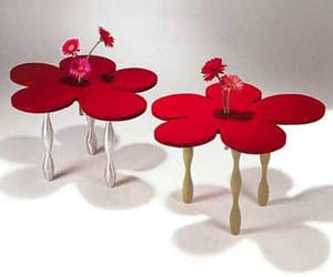 ☆ Flower Table by Sallie Trout
