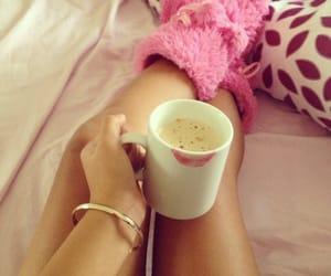 coffee, Kaffee, and bed image