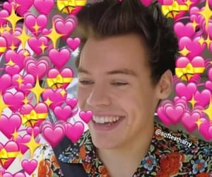 memes, Harry Styles, and one direction image