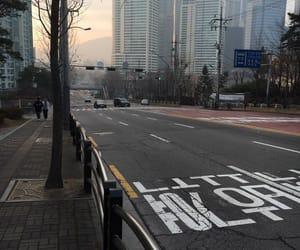 aesthetic, korea, and street image