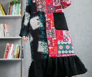 etsy, plus velvet dress, and holiday dress image