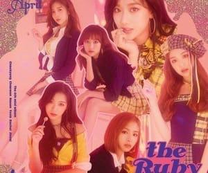 april, jinsol, and k-pop image
