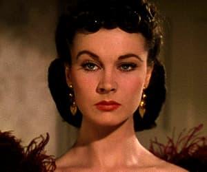 beauty, Scarlett O'Hara, and gif image