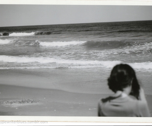 beach and vintage image