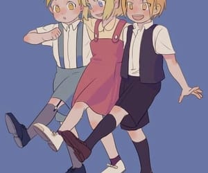 fullmetal alchemist, edward elric, and winry image