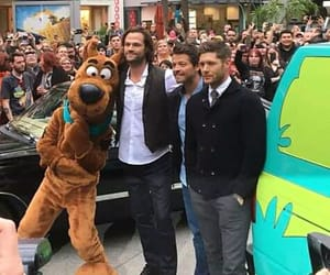 dean winchester, photo, and scooby-doo image