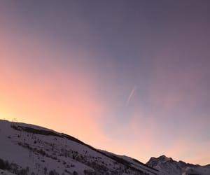 christmas, color, and mountains image
