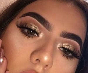 girl, face, and makeup image