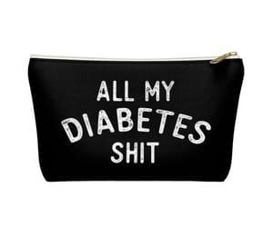 bag, diabetes, and etsy image