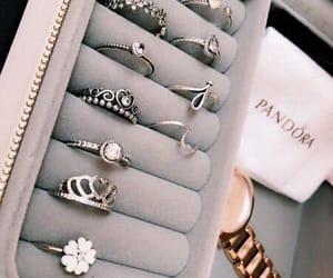 accessories, girls, and pandora image