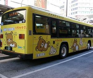 japan, bus, and kawaii image