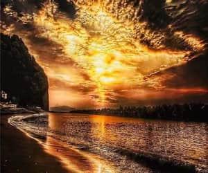 sunset, backgrounds, and sunset background image