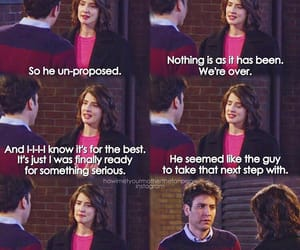 himym, how i met your mother, and in love image