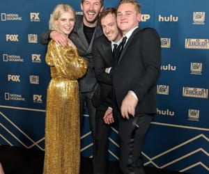 golden globes and ben hardy image