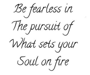 fire, letters, and soul image