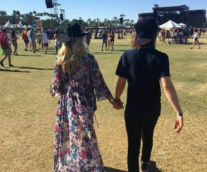 coachella, couple, and formal image