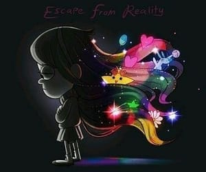 escape, gravity falls, and lucky image