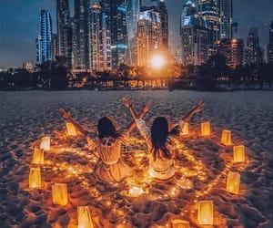 Dubai, heart, and love image