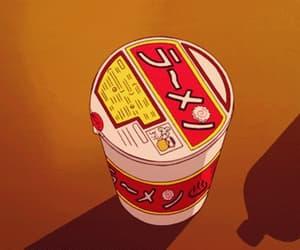 anime, gif, and fast food image