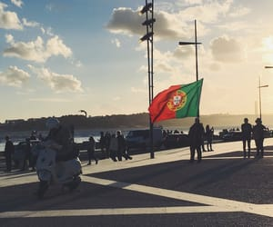 flag, lisbon, and portugal image