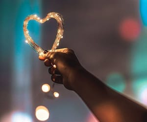bokeh, capture, and fairy lights image