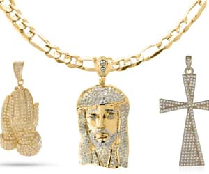 mens jewelry, necklaces, and mens necklaces image