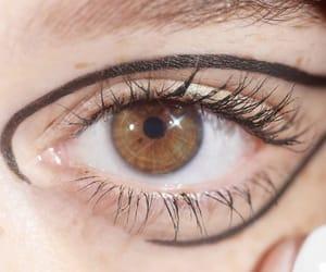beauty, brown eyes, and elegant image