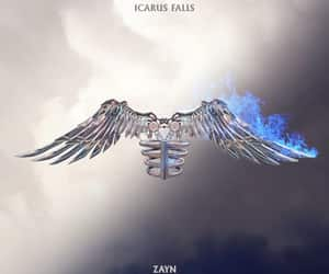 album, zayn, and icarus image