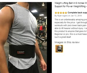 gym gear, scout performance gear, and weight lifting belt image