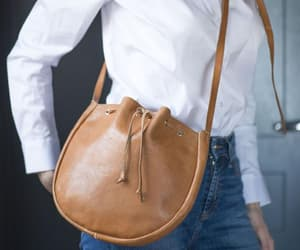 shoulder purse, pouch purse, and soft leather bag image