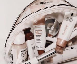 makeup and glossier image