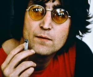 70's, cigarette, and john lennon image