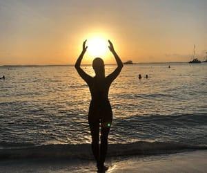 beach, Caribbean, and sun image