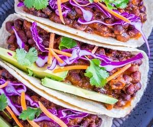 food, recipes, and vegan image