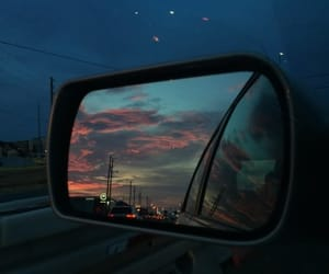 sky, car, and night image