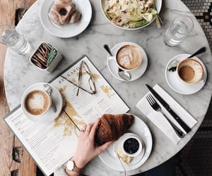 beauty, chic, and coffee image