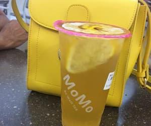 drink, gourmet, and handbag image