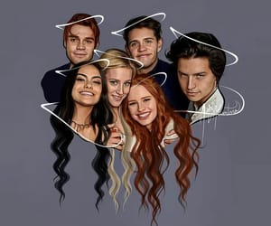 riverdale, Archie, and veronica image