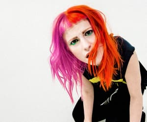 hayley williams, paramore, and split hair image