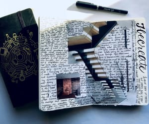 art, book, and journaling image