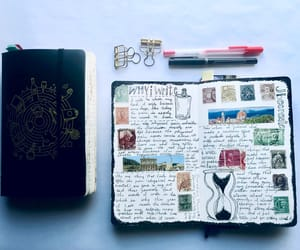 aesthetic, journaling, and journals image