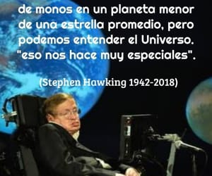 stephen hawking, universe, and universo image