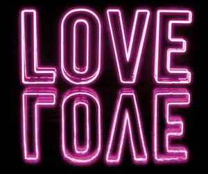 neon and love image