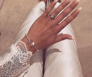 nails, diamond, and ring image