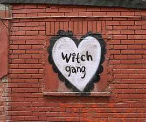 witch, gang, and aesthetic image